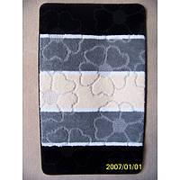 Комплект ковриков для ванной комнаты на резиновой основе - 130-282