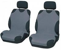 Майки на сидения передние (авточехлы серые)