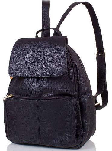 Стильный женский рюкзак из искусственной кожи 10 л. ETERNO (ЭТЕРНО) ETMS32870-2 черный
