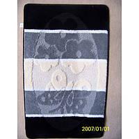 Комплект ковриков для ванной комнаты на резиновой основе - 130-297