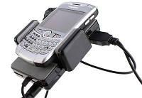 FM-модулятор+автодержатель+зарядка для iPhone/BlackBerry/touch)  KM