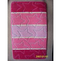 Комплект ковриков для ванной комнаты на резиновой основе - 130-298
