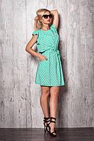 Лёгкое летнее платье из штапеля
