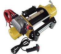 Лебедка электрическая для эвакуатора T-MAX CEW 15000 12v/6,800т RADIO