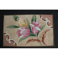 Комплект ковриков для ванной комнаты на резиновой основе - 130-313