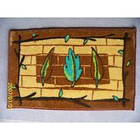 Комплект ковриков для ванной комнаты на резиновой основе - 130-316