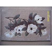 Комплект ковриков для ванной комнаты на резиновой основе - 130-318