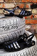 Босоножки женские летние черные силикон Vices. Польша