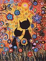 Картина раскраска по номерам без коробки Идейка Магические краски (KHO2462) 30 х 40 см