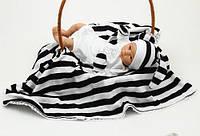 Набор для новорожденных (черно-белый)