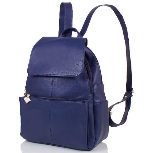Удобный женский рюкзак из искусственной кожи 10 л. ETERNO (ЭТЕРНО) ETMS32870-6-1 синий