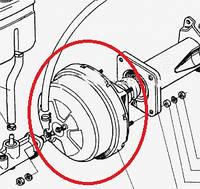 Вакуумний підсилювач гальм  УАЗ-452,469 LA 3151-3510010