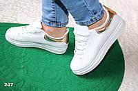 Кроссовки на платформе 39рр