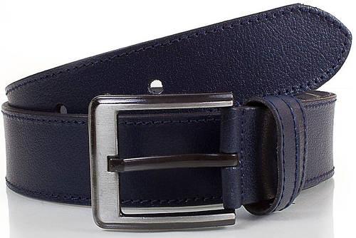 Классический мужской кожаный 4,5 см. Y.S.K. (УАЙ ЭС КЕЙ) SHI934-6, синый