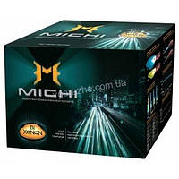 Комплект ламп биксенона без контроллера Michi 35Вт для цоколей H4