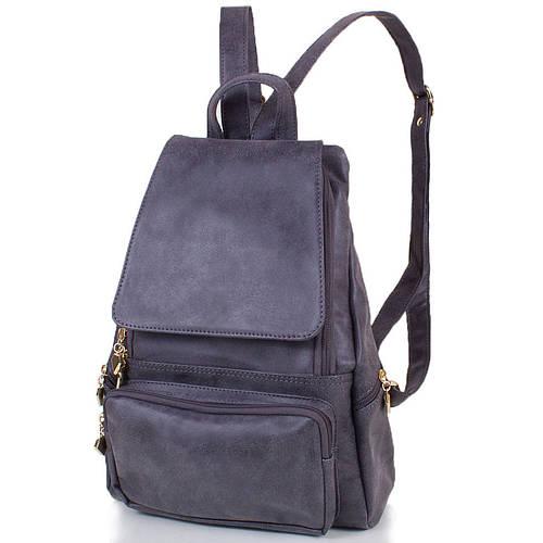 Компактный женский рюкзак из искусственной кожи 13 л. ETERNO (ЭТЕРНО) ETMS32867-9 серый