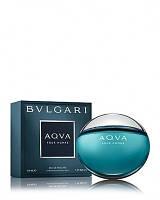 Bvlgari Aqua pour Homme (Набор туалетная вода 100 мл + шампунь/гель для душа 75 мл + бальзам после бритья 75 мл)
