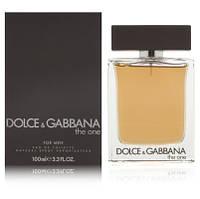 Dolce&Gabbana The One for Men (Набор туалетная вода 100 мл + бальзам после бритья 75 мл + гель для душа 50 мл)