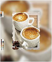 """Схема для вышивки бисером на подрамнике (холст) """"Кофе со сливками"""""""