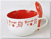 """Супница с ложечкой """"Soup"""", 750 мл"""