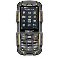 Защищённый мобильный телефон Sigma mobile X-treme DZ67 yellow-black