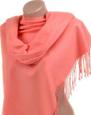 Красивый женский кашемировый палантин Подиум 32112 pink (розовый)