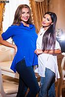 Женская блуза с принтом 44-50