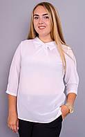 Кортни. Женская блузка. Белый., фото 1