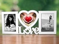 "Рамка для фото  ""Love""  заготовока для декора"
