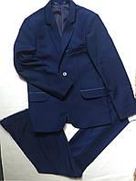 Школьная форма синяя  двойка , подросток 146-170