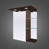 Шкафчик зеркальный с диодной подсветкой MC-8 (ШЗ-8) цвета исполнения-Венге;Белый.
