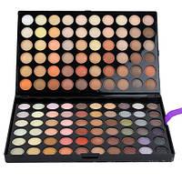 Профессиональная палитра теней Пастельные тени 120 шт (тени матовые и с блеском) Mac Cosmetics