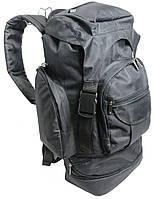Вместительный туристический рюкзак 55-60 л., 85671 чёрный