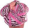 Красивый женский шарф из полиэстера 150 на 98 см BAOSIDI (БАОСИДИ) DS906-258-2 разноцветный