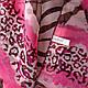 Красивый женский шарф из полиэстера 150 на 98 см BAOSIDI (БАОСИДИ) DS906-258-2 разноцветный, фото 3