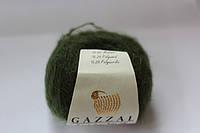 Нитки для вязания пушистых шалей, платков,балеро