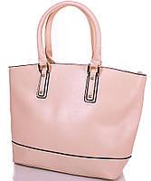 Великолепная женская сумка из качественного кожзаменителя ANNA&LI (АННА И ЛИ) TUP14339-19 (бежевая)