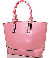 Яркая женская сумка из качественного кожзаменителя ANNA&LI (АННА И ЛИ) TUP14339-13 (розовая)