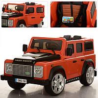 Детский электромобиль Джип  M 3190EBLR-7 оранжевый