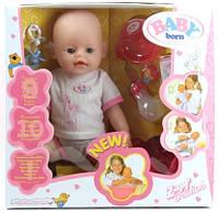 Кукла Беби Берн Baby Born 9 функций, 10 аксессуаров волшебная соска