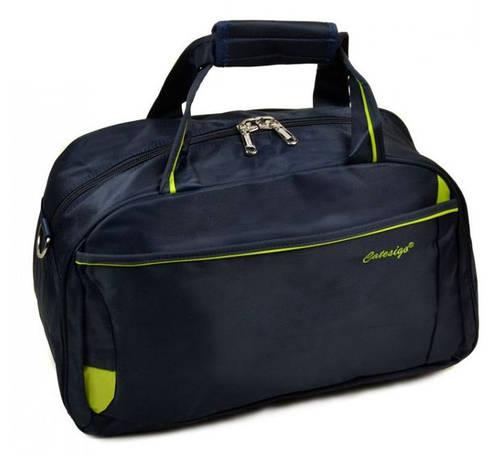 Дорожная удобная сумка-саквояж из нейлона 34 л. 22806 20 Medium blue (синий)