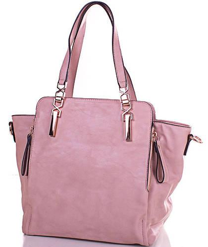 Привлекательная женская сумка из качественного кожзаменителя ANNA&LI (АННА И ЛИ) TUAL5003-13 (бежевая)