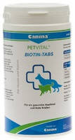 Витамины для собак для поддержки здорового состояние кожи и шерсти Canina Petvital Biotin Tabs 100 гр