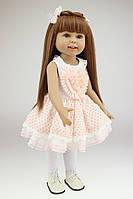 Кукла Аманда, реборн, 45 см, полностью из винила, в подарочной упаковке