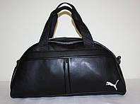 Спортивная сумка черная Puma // Кожзам