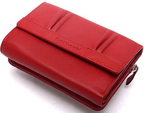 Современный женский кожаный кошелек Paola Tomasini  31692/05