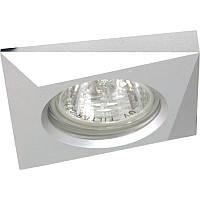 """Светильник галогенный """"Аluminium"""" DL230 MR16 алюминий G5.3, Feron"""