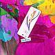 Воздушный женский шарф из полиэстера 137 на 100 см ASHMA (АШМА) DS41-317-1 разноцветный, фото 3
