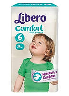 Подгузники Libero Comfort 6 XL (Либеро) 12-22 кг №16