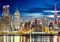 Фотообои бумажные: НЬЮ ЙОРК изделие (ширина 280см высота 196см) из 16 листов